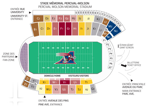 Tickets Montreal Alouettes