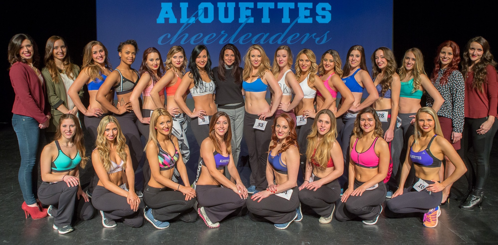 2016 Alouettes Cheerleaders Montreal Alouettes
