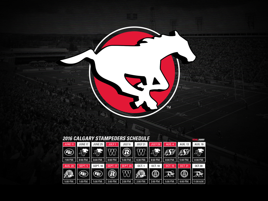 Wallpaper Calgary Stampeders