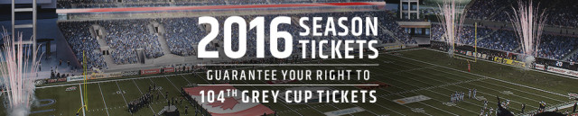 2016 Argos Season Tickets
